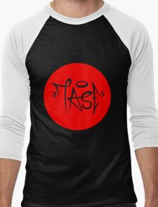 Red Sun TASE Tag Men's Baseball ¾ T-Shirt
