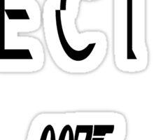 Spectre 007 Sticker