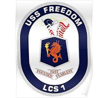LCS-1 USS Freedom Poster