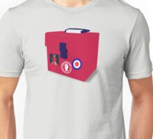 Northern Soul Flight Case Unisex T-Shirt