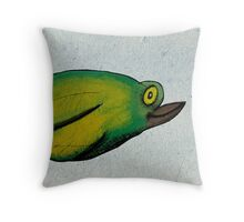 Birdy Num Nums Throw Pillow