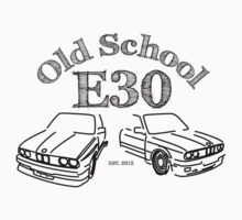 BMW E30 Old School by vakuera