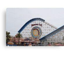 California Screamin' - Paradise Pier Metal Print
