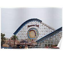 California Screamin' - Paradise Pier Poster