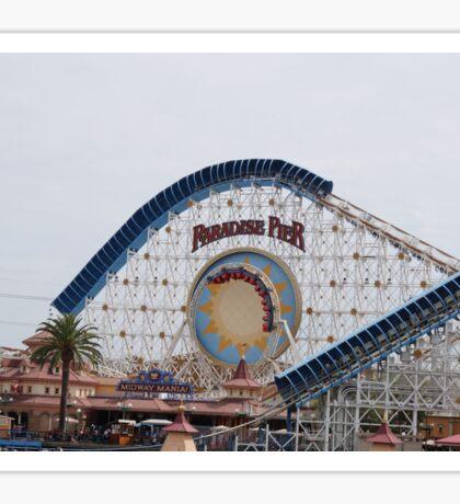 California Screamin' - Paradise Pier Sticker