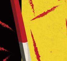 Kill Bill minimal poster Sticker