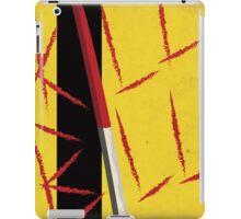 Kill Bill minimal poster iPad Case/Skin