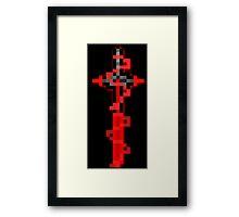 Kylo Ren Saber Framed Print