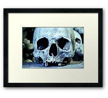Forever Occupants of The Ossuary I Framed Print