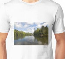 Mountain Lake Vista Unisex T-Shirt