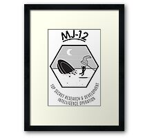 MJ-12 Majestic 12 Framed Print