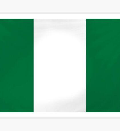 Nigerian Flag Sticker Sticker