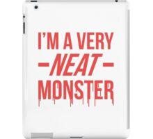 Dexter typography iPad Case/Skin