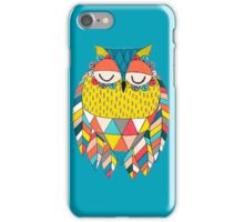 Aztec Owl Illustration iPhone Case/Skin