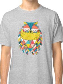 Aztec Owl Illustration Classic T-Shirt