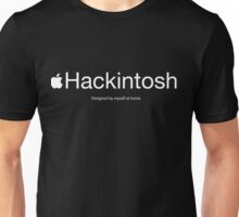 Hackintosh - White Unisex T-Shirt