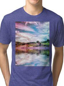 Rainbow Farm Tri-blend T-Shirt
