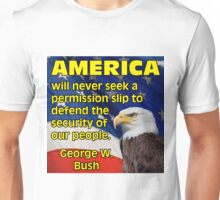 PRES43 PERMISSION SLIP Unisex T-Shirt