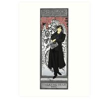Sherlock de Lorenzaccio Art Print