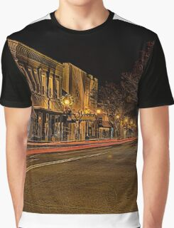 olde historic york city at christmas time in south carolina Graphic T-Shirt