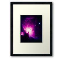 We love space - version 3 Framed Print
