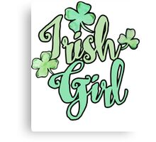 Irish Girl Canvas Print