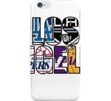 Los Angeles sport team mash ups iPhone Case/Skin