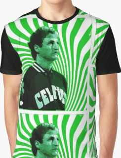THE LEGEND Poly Design Graphic T-Shirt
