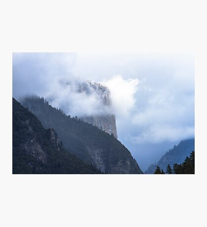 El Capitan in Fog   Yosemite Photographic Print
