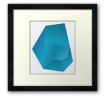 Blue sky meth Framed Print