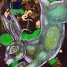Running Rabbit by Lynnette Shelley
