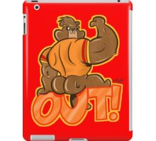 BUTT OUT! iPad Case/Skin