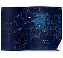 Civil War Maps 1524 Richmond vicinity Inverted Poster