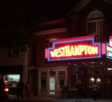 Westhampton Theater Sticker