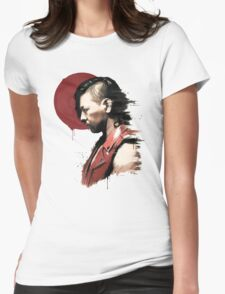 King Of Strong Style - Red Sun Womens Fitted T-Shirt