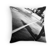 One Night on Rue Ste. Catherine Throw Pillow