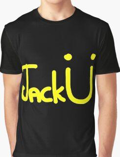 Jack Ü - Yellow Graphic T-Shirt