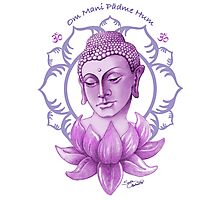 Meditating Buddha Photographic Print