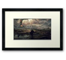 The Fight For Mordor - Lord Of The Rings Framed Print