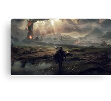 The Fight For Mordor - Lord Of The Rings Canvas Print
