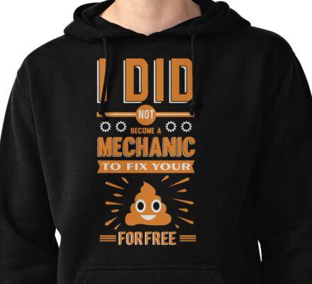 Mechanic Pullover Hoodie