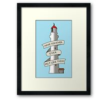Round the Twist Tribute Framed Print
