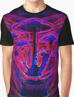 Neon Shrooms Graphic T-Shirt