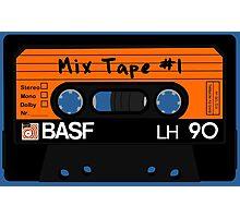 Cassette Mix tape Photographic Print