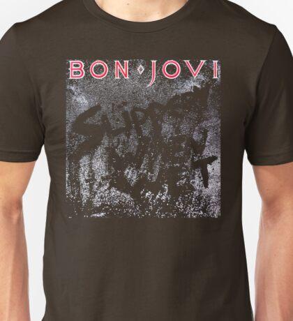 bon jovi slippery when wet 22 Unisex T-Shirt