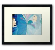 Touch Of Motherly Love – Across The Great Divide  Framed Print