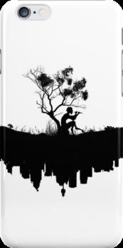 Urban Faun - Black on White by UrbanFaun