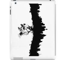 Urban Faun - Black on White iPad Case/Skin
