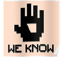 We Know 8-bit Poster
