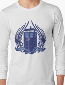 Doctor Who - Angels have the Phone Box Long Sleeve T-Shirt